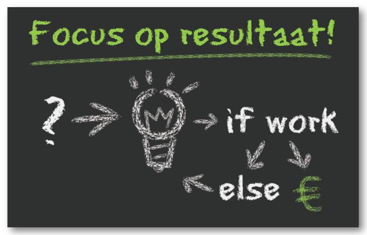 Focus op resultaat
