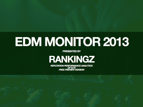 EDM Monitor 2013 - DJs Free Preview